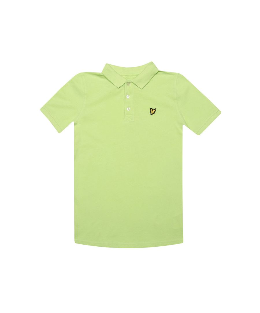 Image for Boys' Lyle And Scott Junior Classic Polo Shirt in Green
