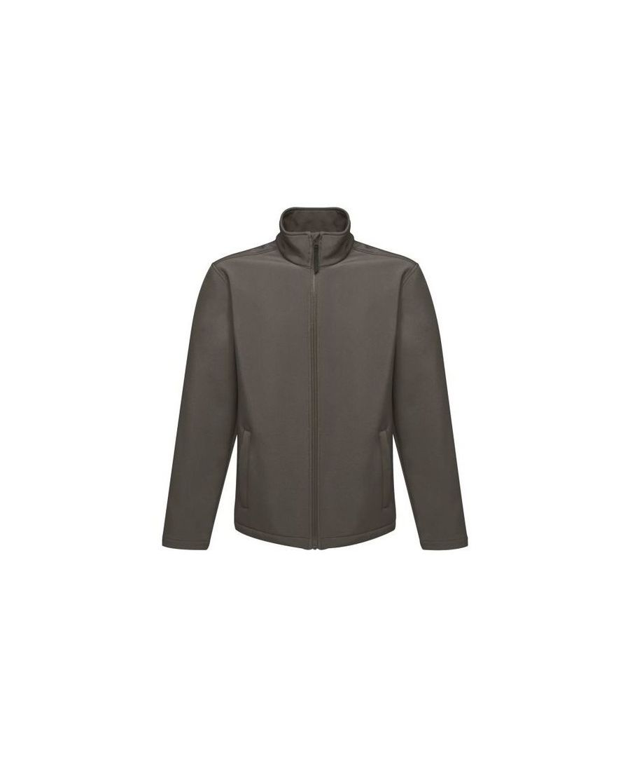Image for Regatta Reid Mens Softshell Wind Resistant Water Repellent Jacket