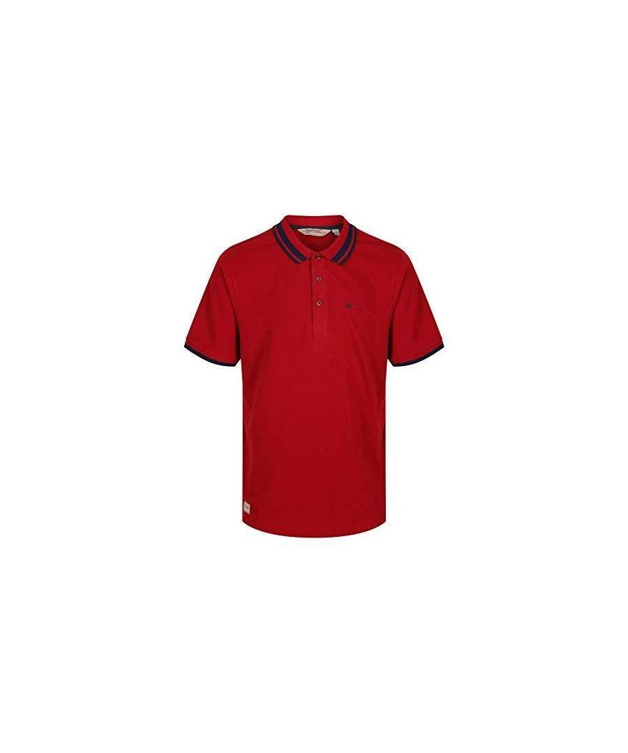 Image for Regatta Mens Talcott II Pique Polo Shirt