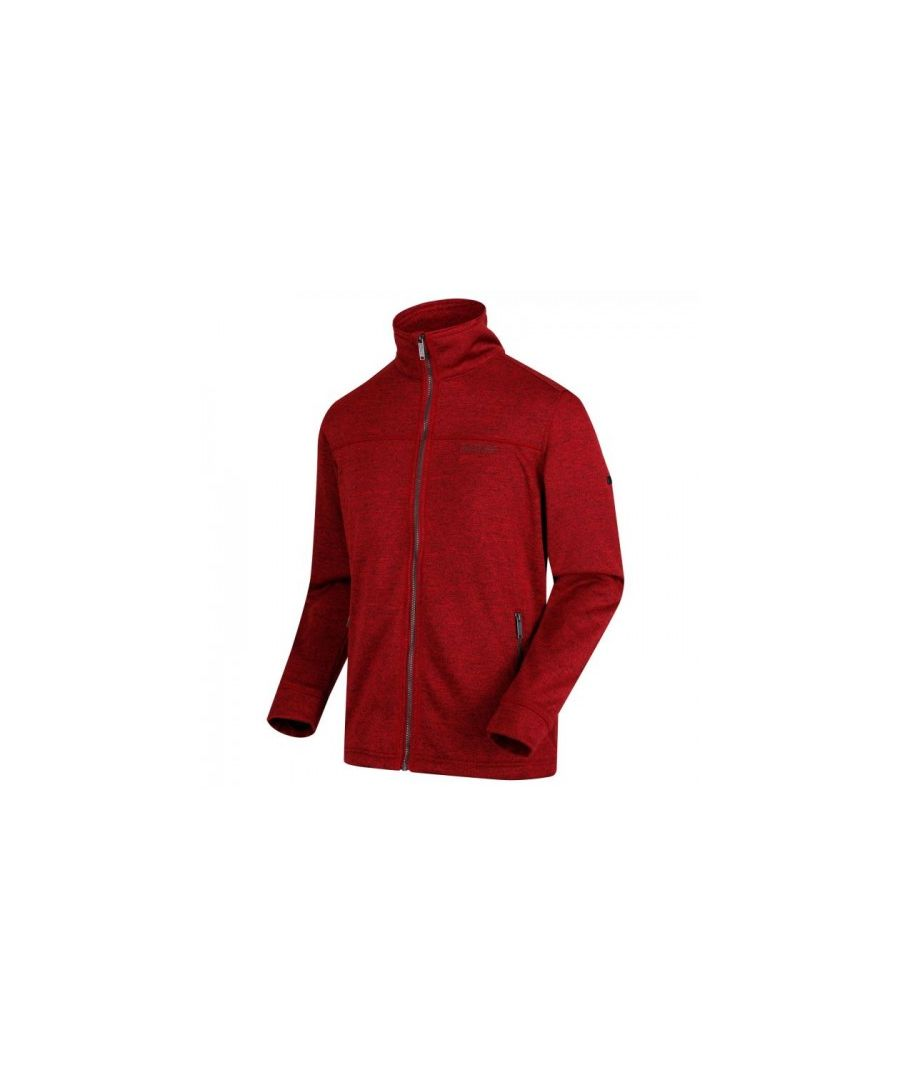 Image for Regatta Mens Galton Heavyweight Knit Effect Fleece