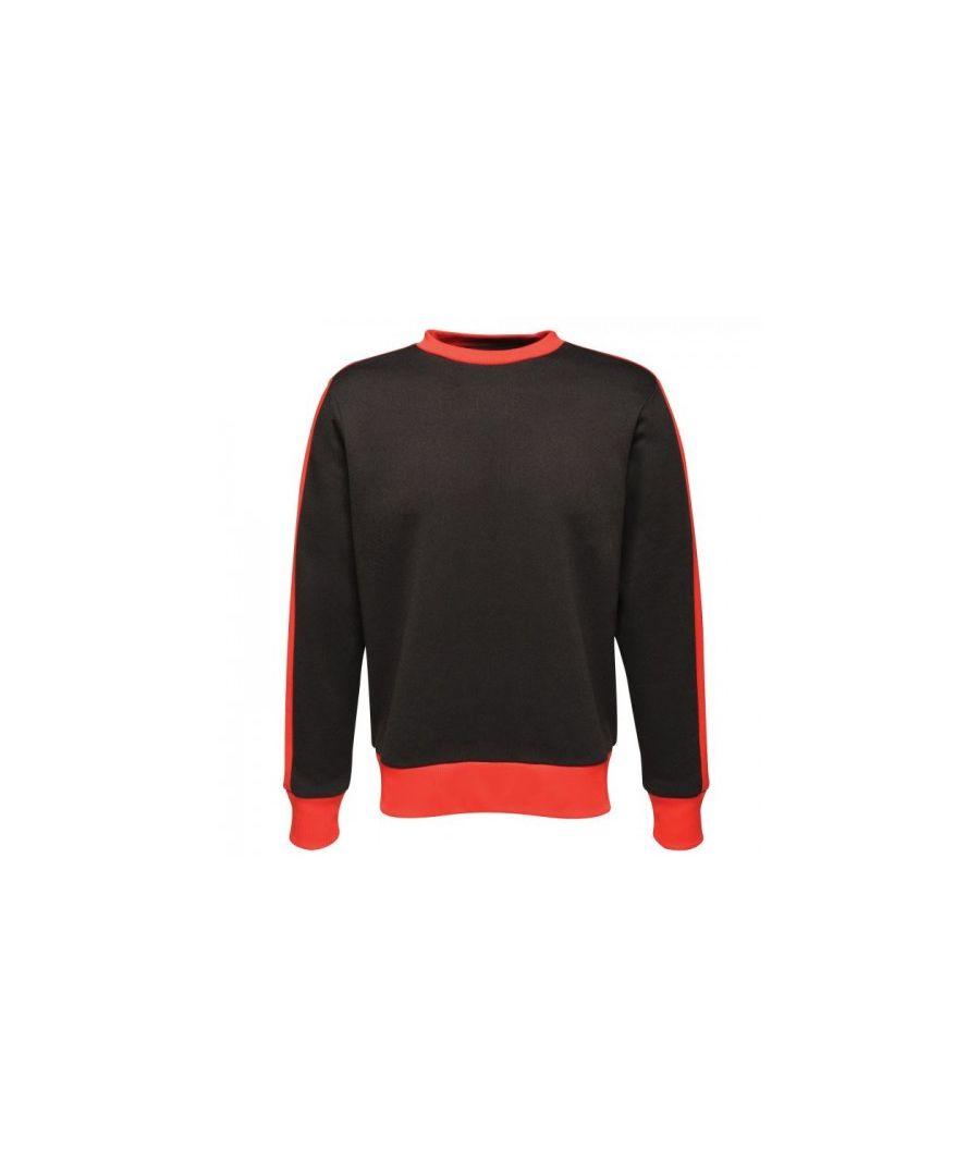 Image for Regatta Mens Contrast Crew Neck Sweater