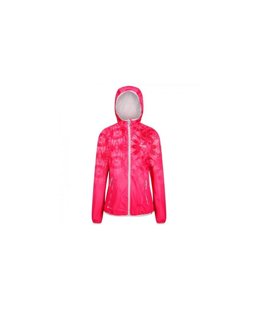 Image for Regatta Womens/Ladies Leera III Lightweight Hooded Waterproof Jacket