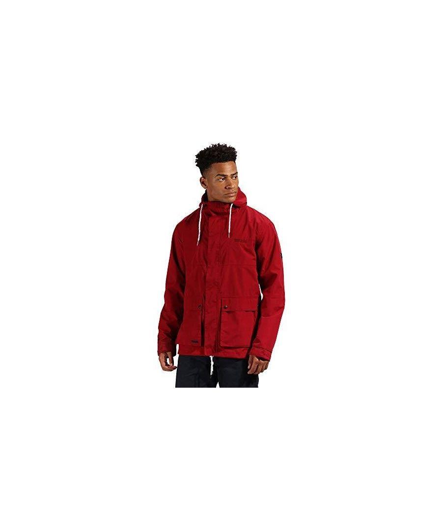 Image for Regatta Mens Herrick Waterproof Hooded Jacket
