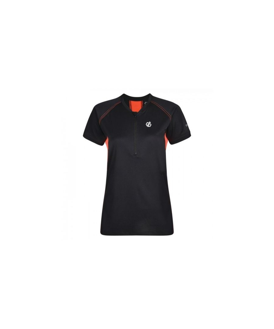 Image for Dare 2b Womens/Ladies Tribe Half-Zip Cycle Jersey