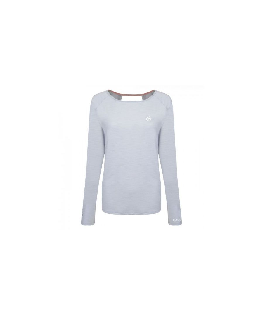 Image for Dare 2b Womens/Ladies Riposte Long Sleeve Cutout Top