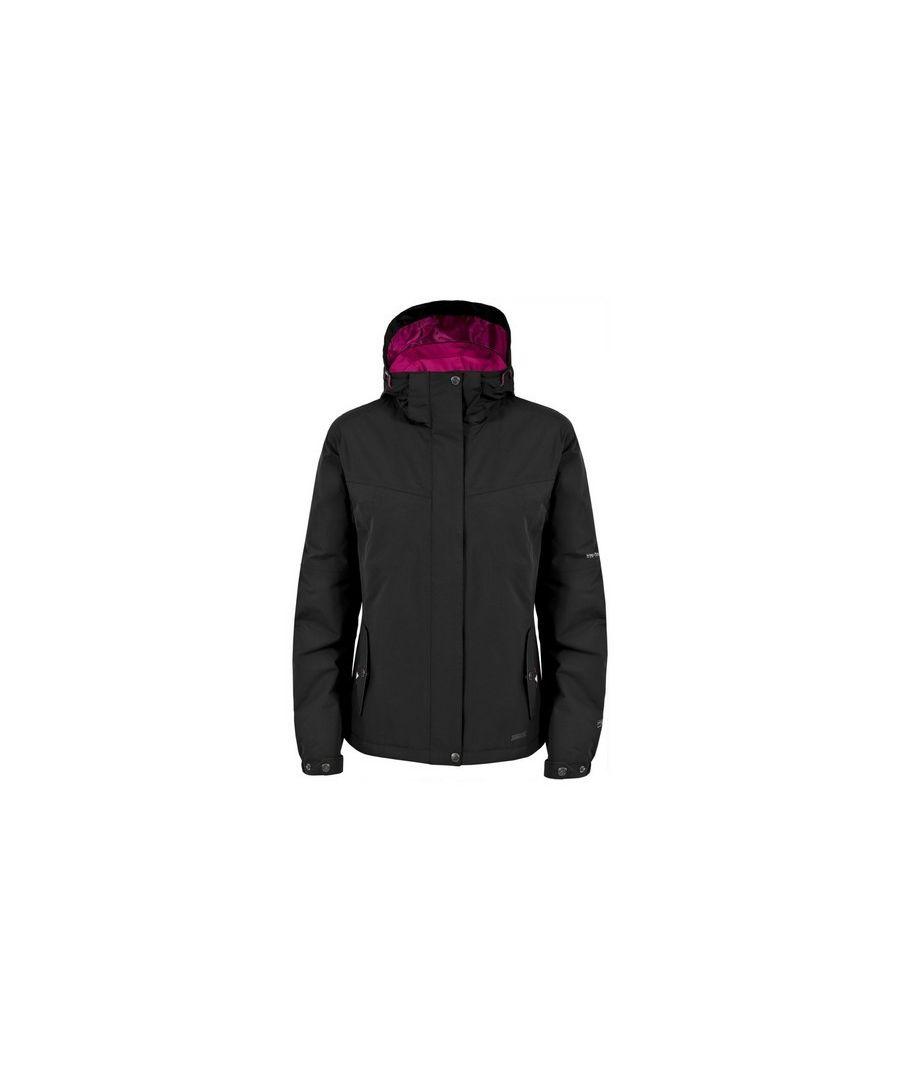 Image for Trespass Womens/Ladies Malissa Lightly Padded Waterproof Jacket