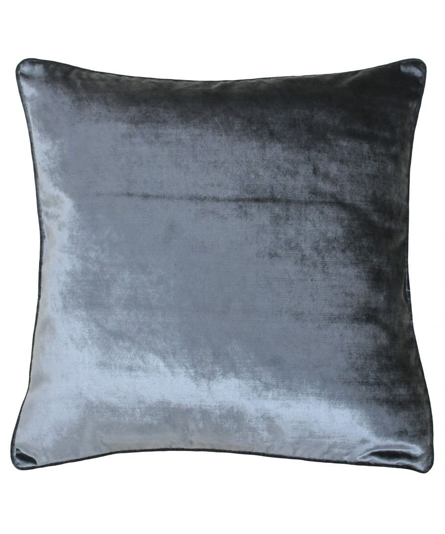 Image for Luxe Velvet 55X55 Poly Cushion Anth