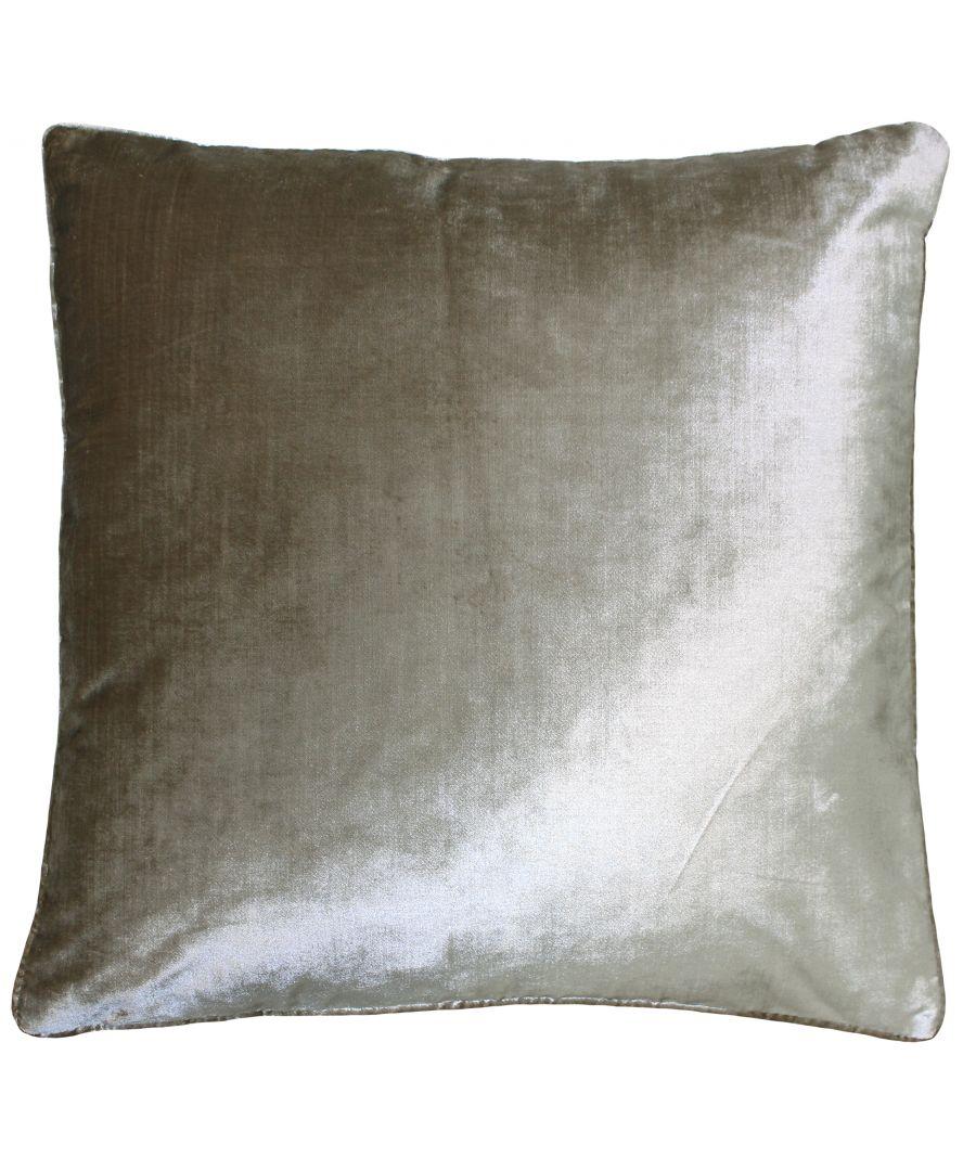 Image for Luxe Velvet 55X55 Poly Cushion Gilt