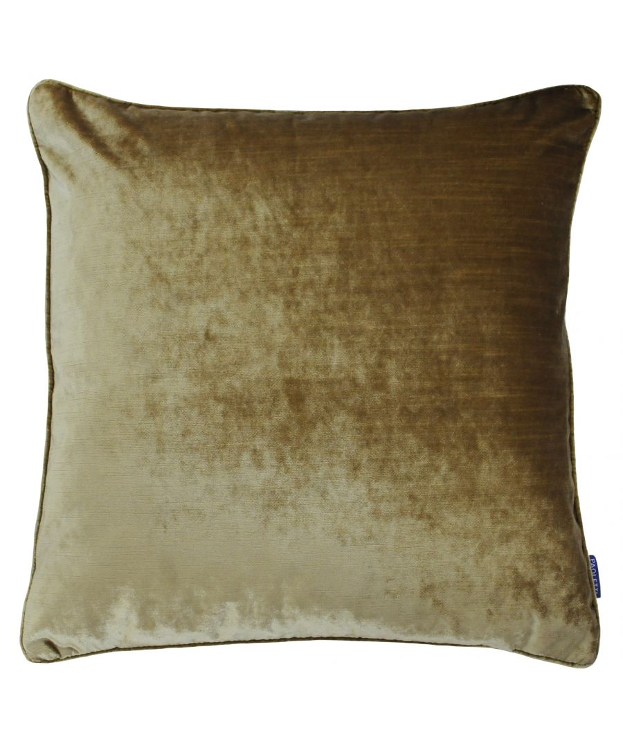Image for Luxe Velvet 55X55 Poly Cushion Gold
