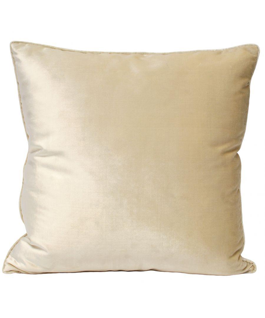 Image for Luxe Velvet 55X55 Poly Cushion Ivor