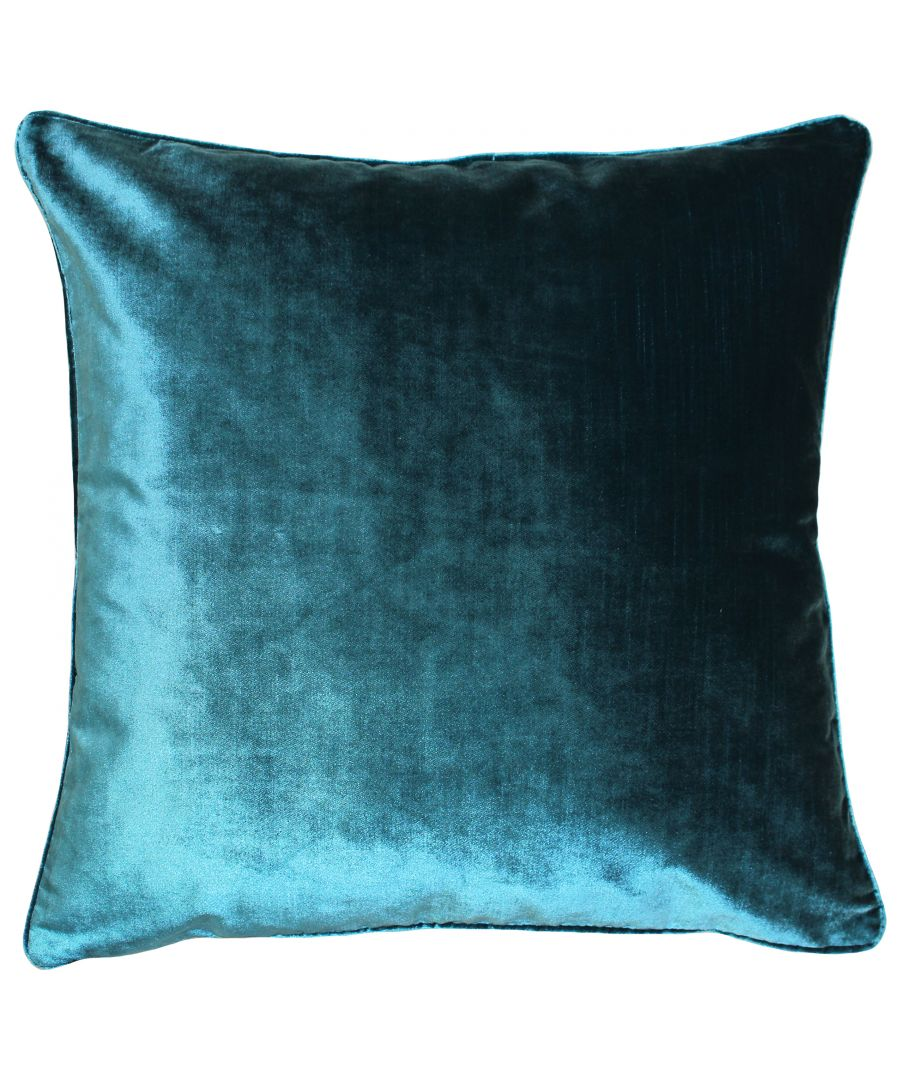 Image for Luxe Velvet 55X55 Poly Cushion Teal