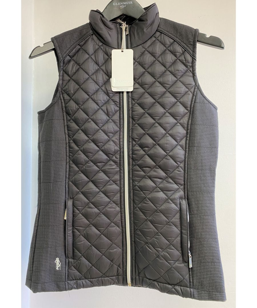 Image for Grey Gillet Padded With Pockets