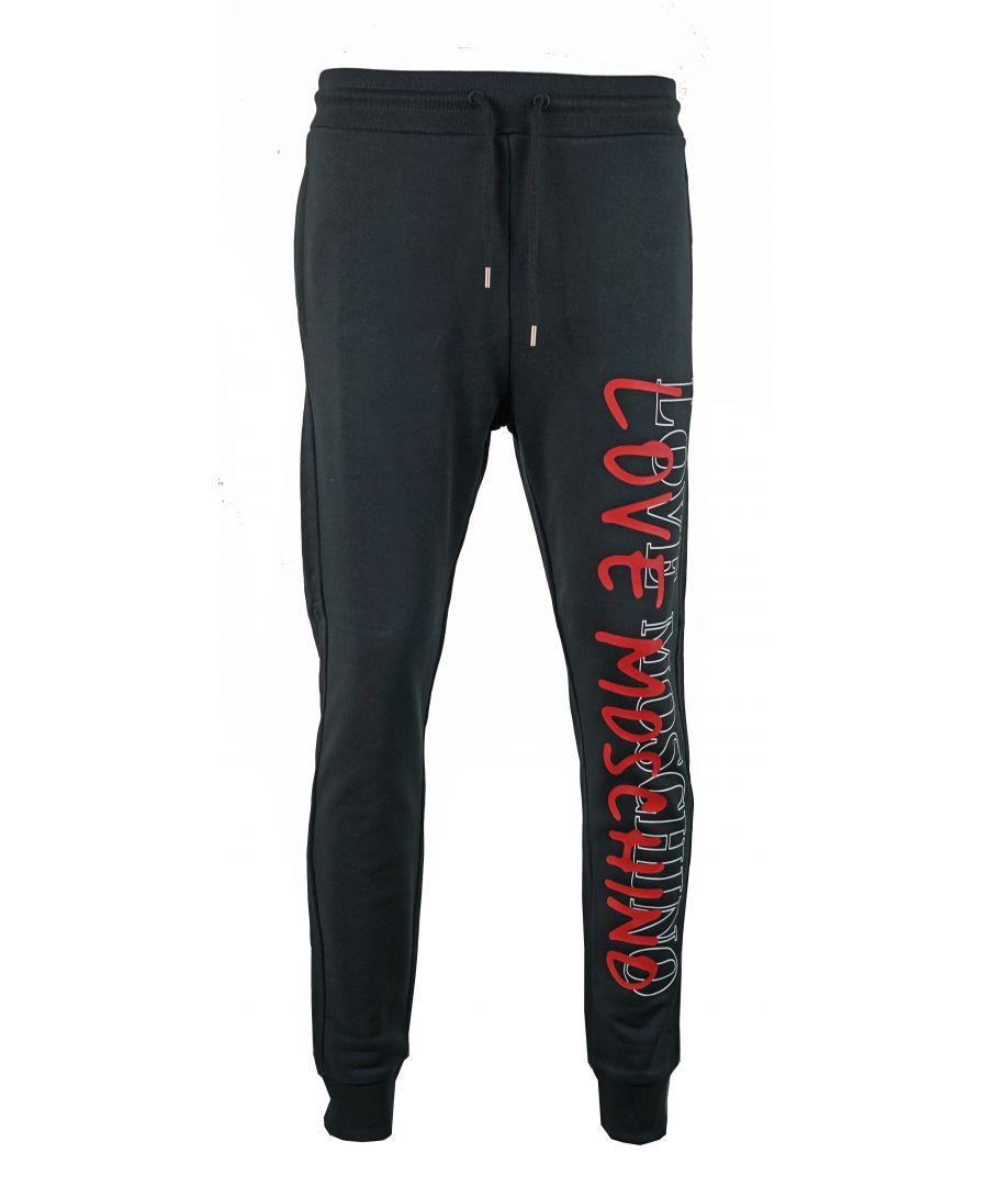 Image for Love Moschino M 1 087 24 M 3875 C74 Black Sweat Pants