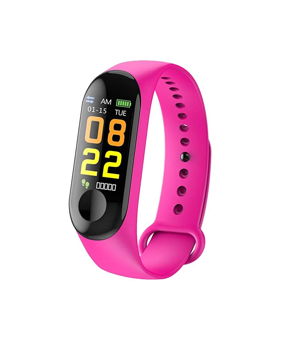 Image for Lkstech® Smart M3 Activity Tracker With Ips Color Screen, Pink