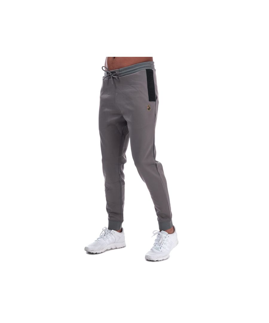 Image for Men's Luke 1977 Trico Joggers in Charcoal