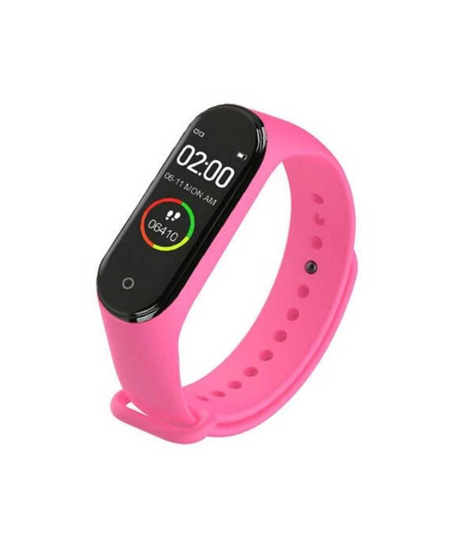 Image for Lkstech® Smart Activity Bracelet M4 With Ips Color Screen, Ip67 Multi-function, Pink