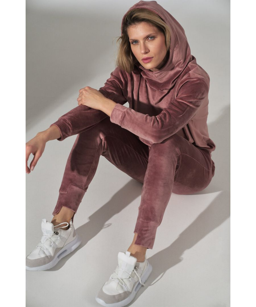 Image for Pink Velour Sweatpants