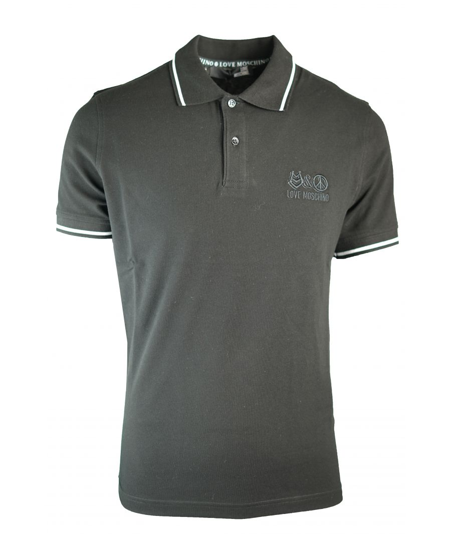 Image for Love Moschino Polo Shirt M 8 304 09 E 1786 C74