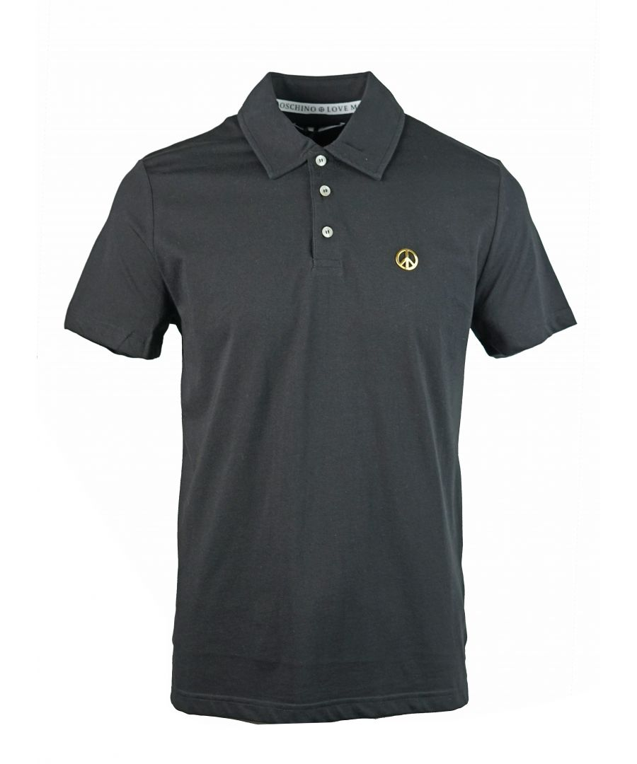 Image for Love Moschino M 8 318 80 M 3876 C74 Polo Shirt