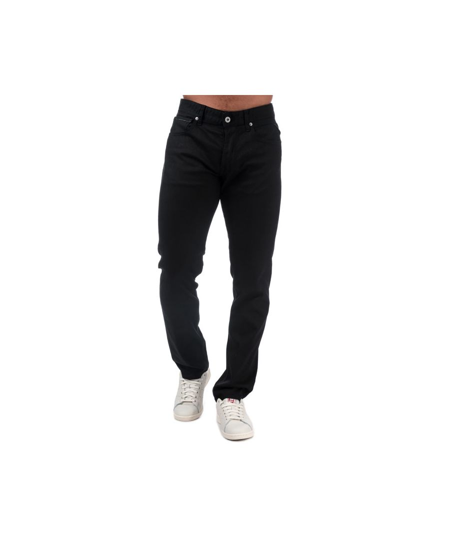 Image for Men's Replay Grover Straight Fit Jeans in Black