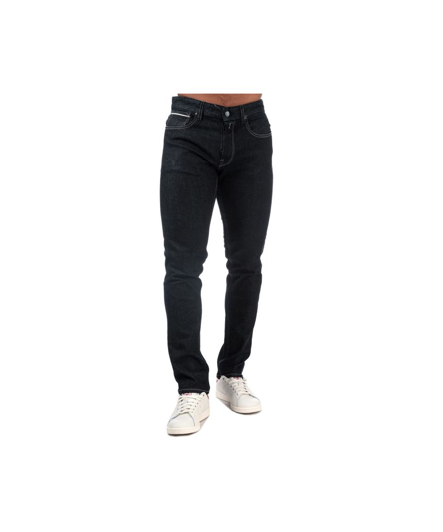 Image for Men's Replay Grover Straight Fit Jeans in Denim