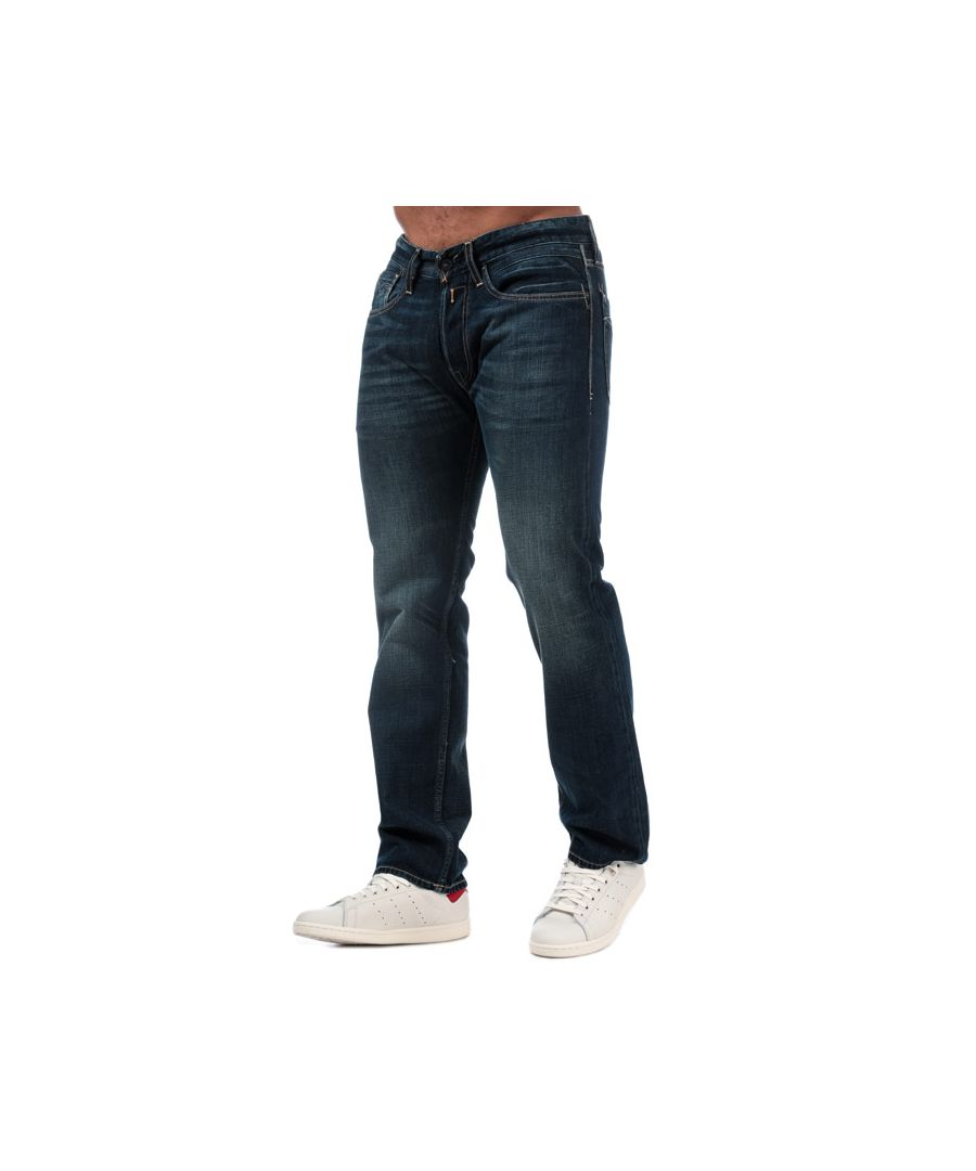 Image for Men's Replay Newbill Comfort Fit Jeans in Denim