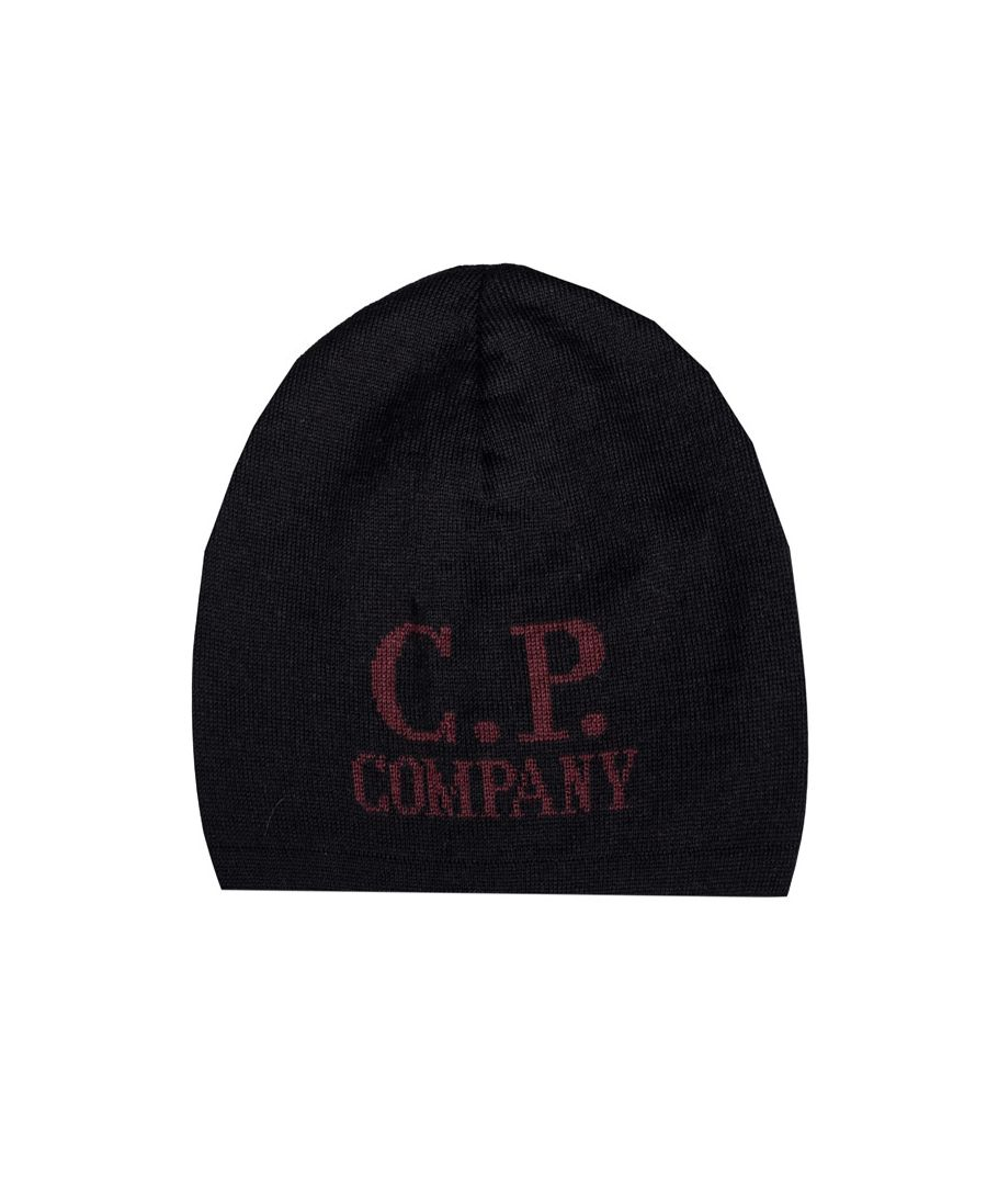 Image for Accessories C.P. Company Jacquard Beanie in Black