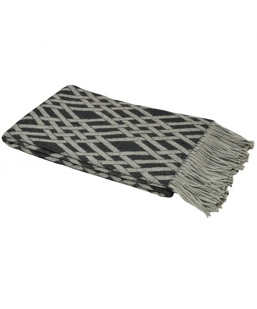 Image for Madison Throw Charcoal