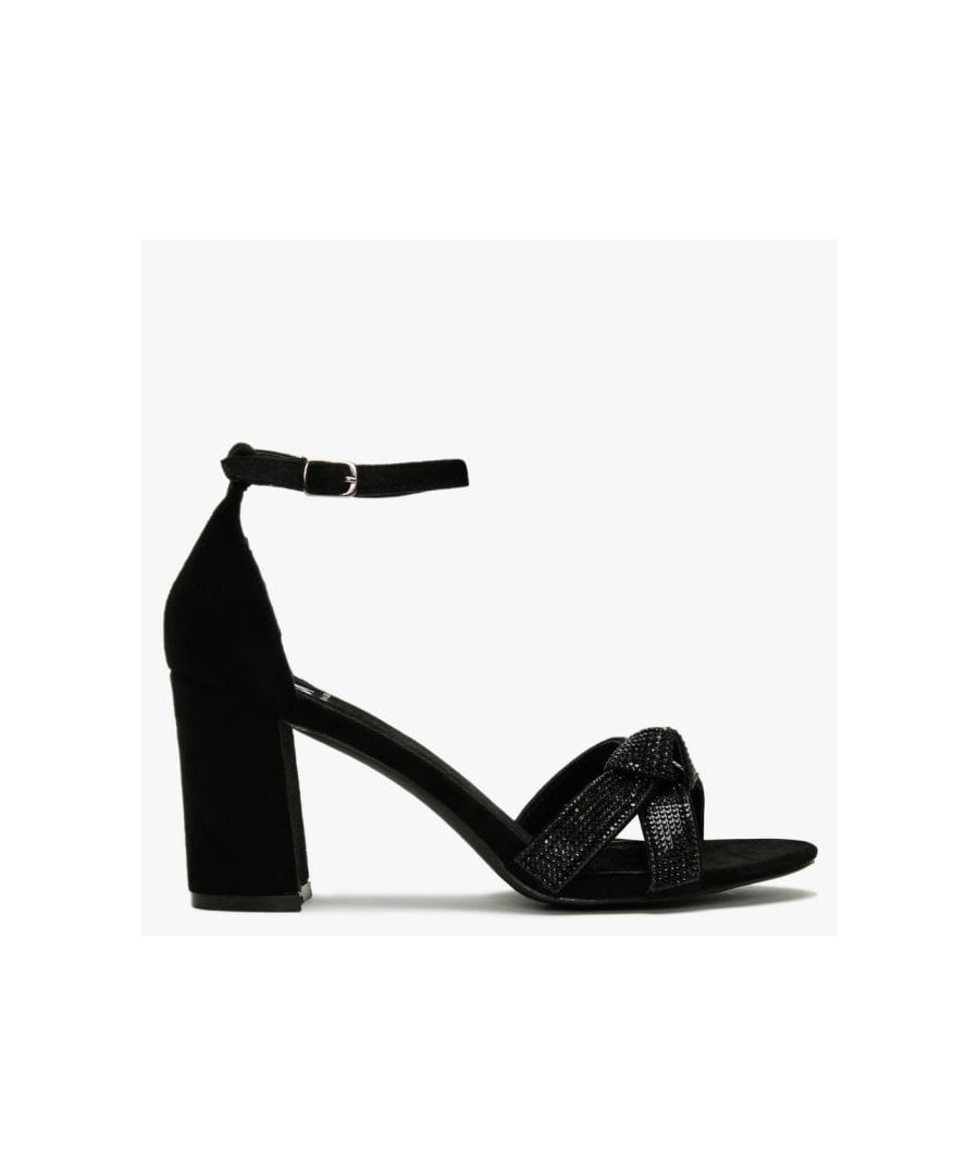Image for DF By Daniel Mahlia Diamante Bow Sandals