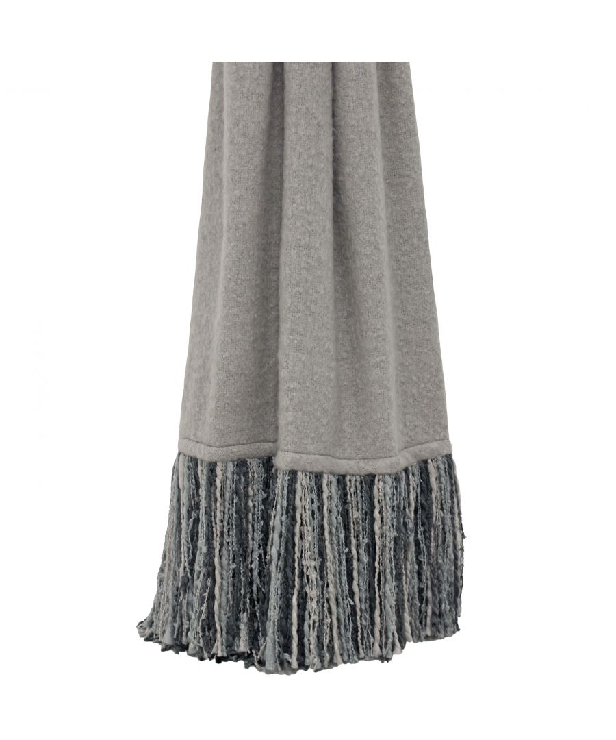 Image for Mala 130X150 Throw Grey
