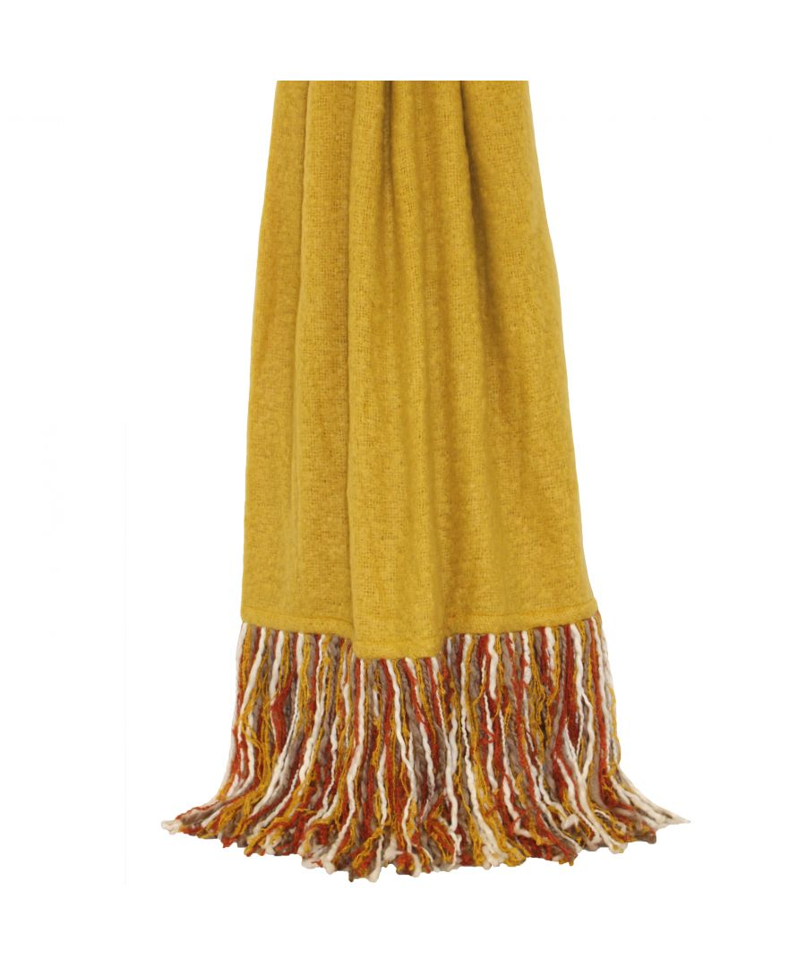 Image for Mala 130X150 Throw Ochre