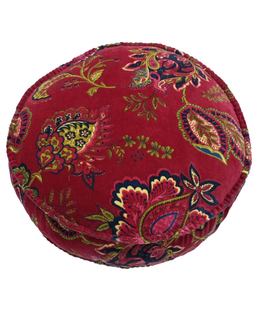 Image for Malisa 50X12 Rd PCushion Pomegranat