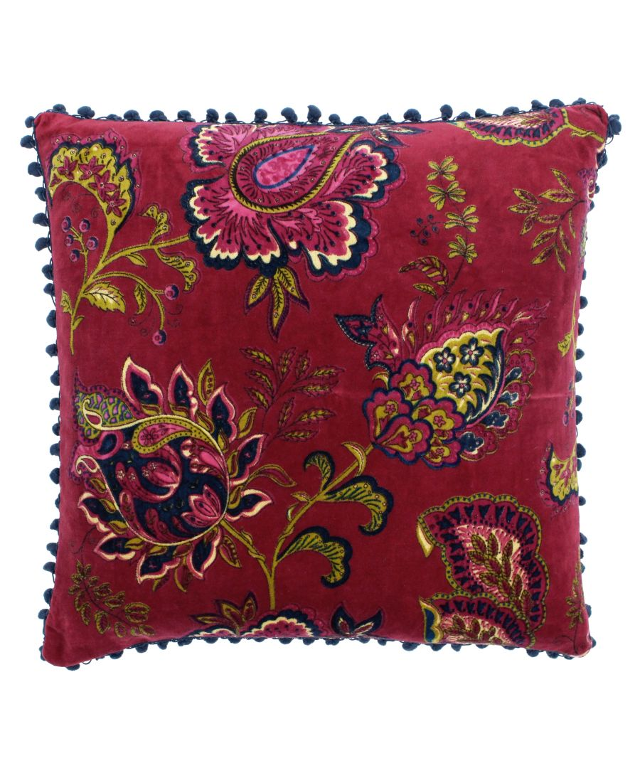 Image for Malisa 50X50 PCushion Pomegranate