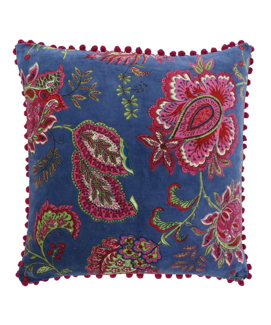 Image for Malisa 50X50 PCushion Smoke Blue