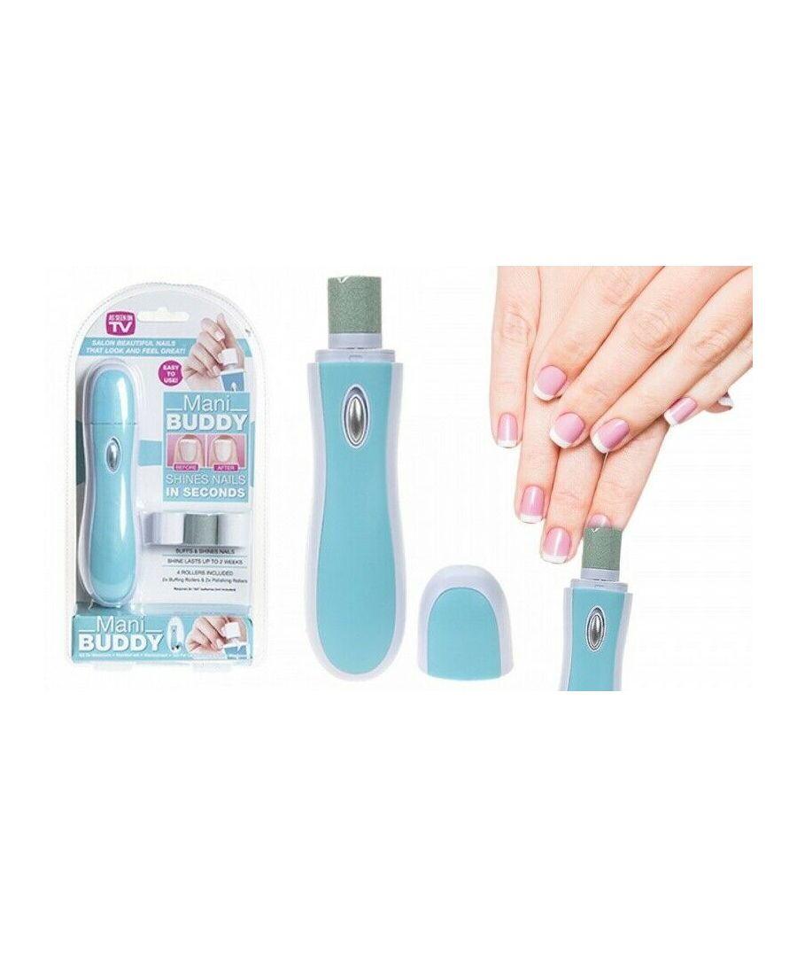 Image for Mani Buddy Manicure Pedicure Nail Buffer & Shiner Tool