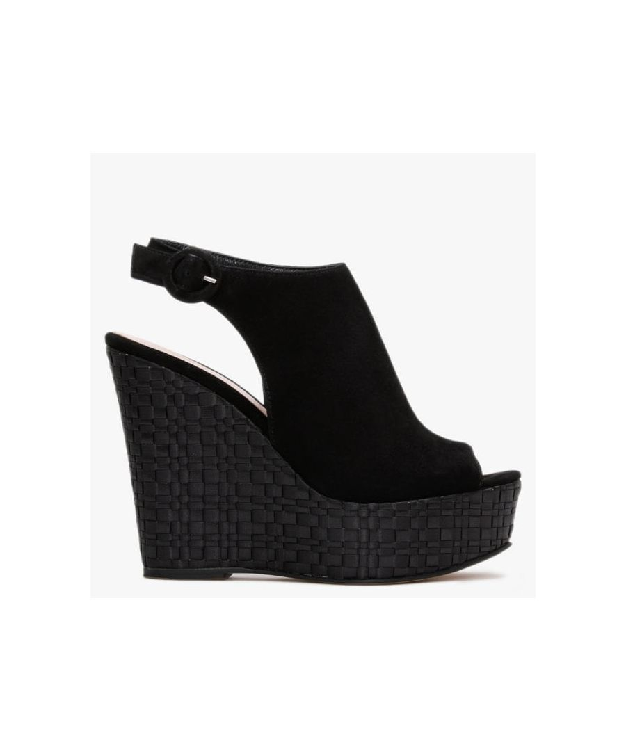Image for Daniel Marees Suede Woven Wedge Sandals