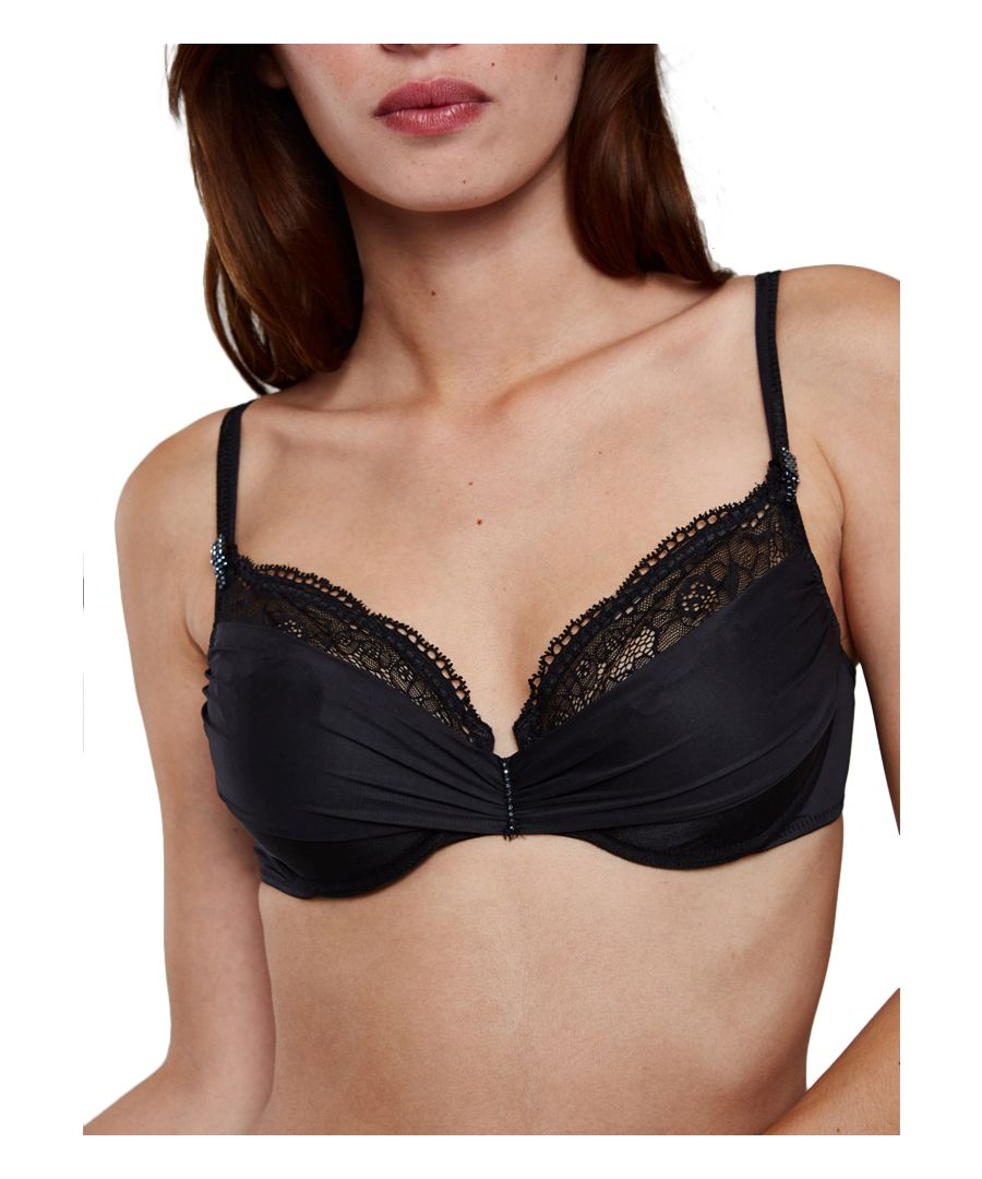 Image for Crystal Full Cup Bra