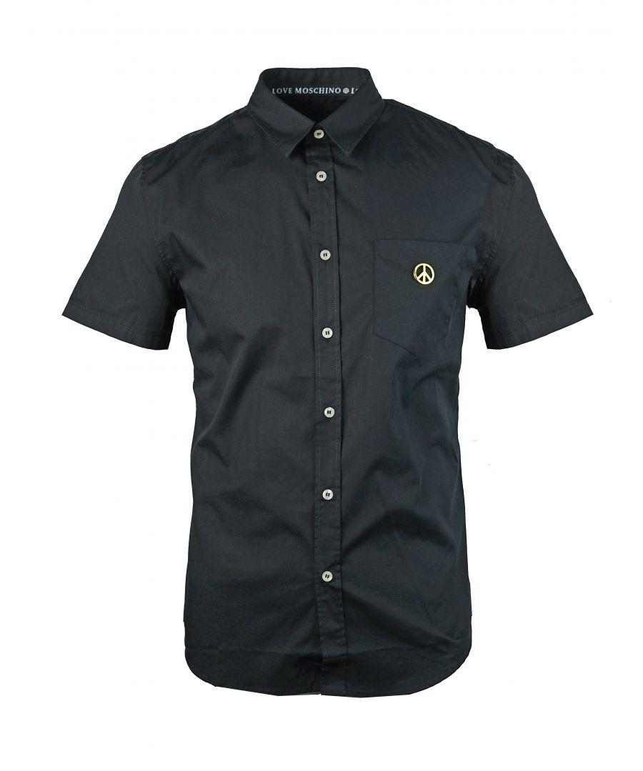 Image for Love Moschino M C 755 84 S 2891 C74 Black Shirt