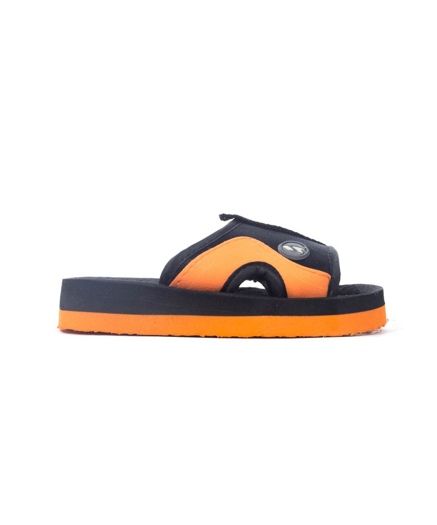 Image for Trespass Numskull Kids Slide Black/Orange