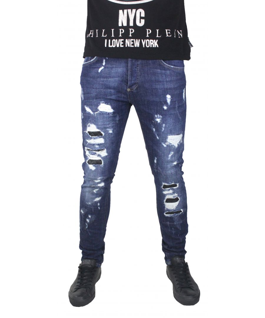 Image for Philipp Plein Jeans MDT0517 Cange 14MT Mid Town