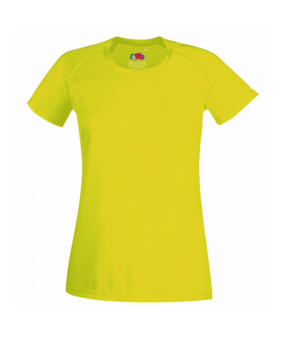 Image for Fruit Of The Loom Ladies/Womens Performance Sportswear T-Shirt