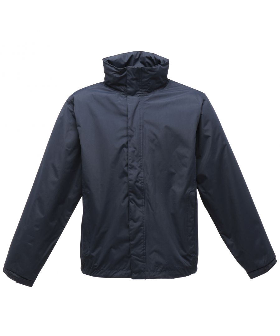 Image for Regatta Mens Pace II Lightweight Waterproof Jacket (Navy/Navy)