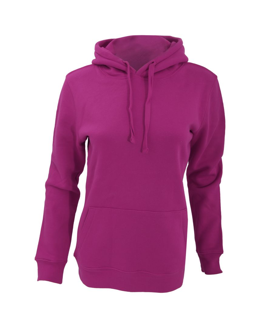 Image for Russell Womens Premium Authentic Hoodie (3-Layer Fabric) (Fuchsia)