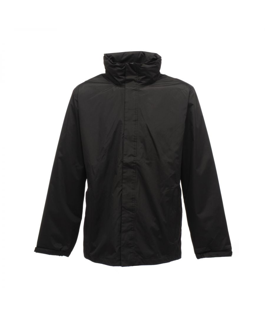 Image for Regatta Mens Standout Ardmore Jacket (Waterproof & Windproof) (Black)