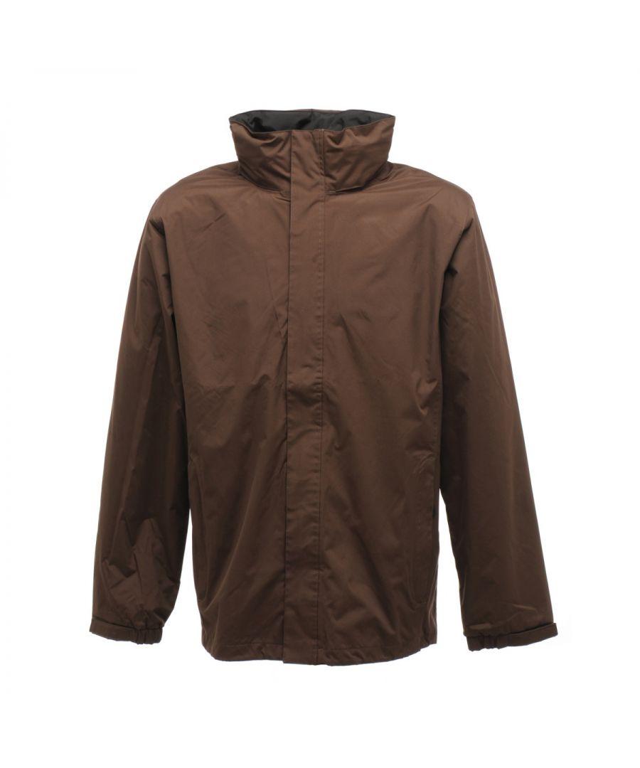 Image for Regatta Mens Standout Ardmore Jacket (Waterproof & Windproof) (Navy Blue)