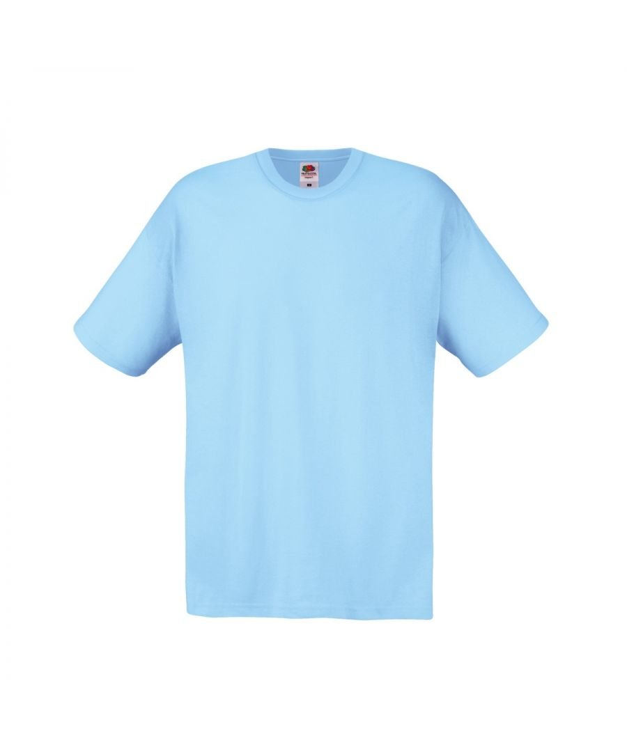 Image for Fruit Of The Loom Mens Screen Stars Original Full Cut Short Sleeve T-Shirt