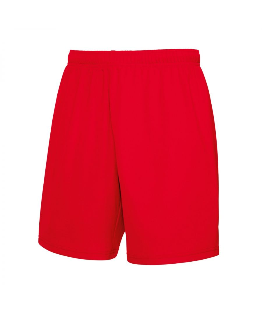 Image for Fruit Of The Loom Mens Moisture Wicking Sports Performance Shorts