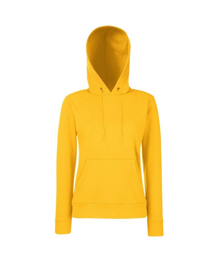 Image for Fruit Of The Loom Ladies Lady Fit Hooded Sweatshirt / Hoodie