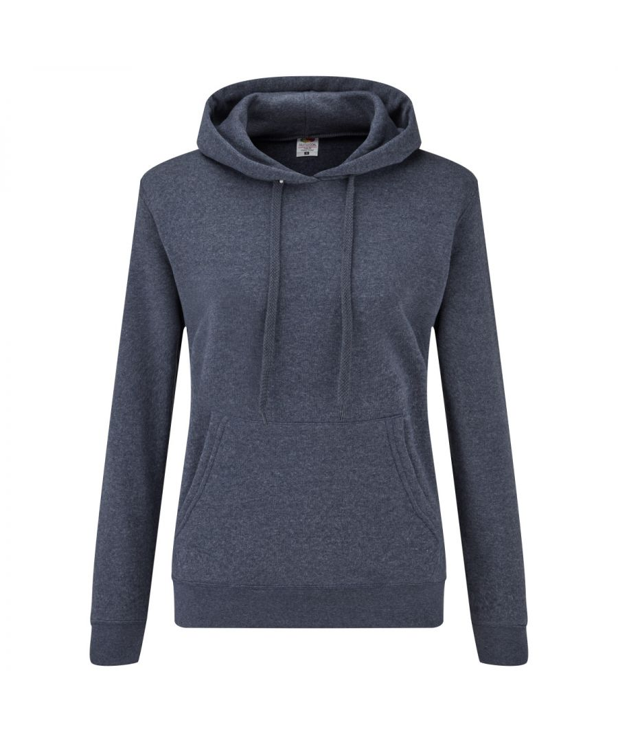 Image for Fruit Of The Loom Ladies Lady Fit Hooded Sweatshirt / Hoodie
