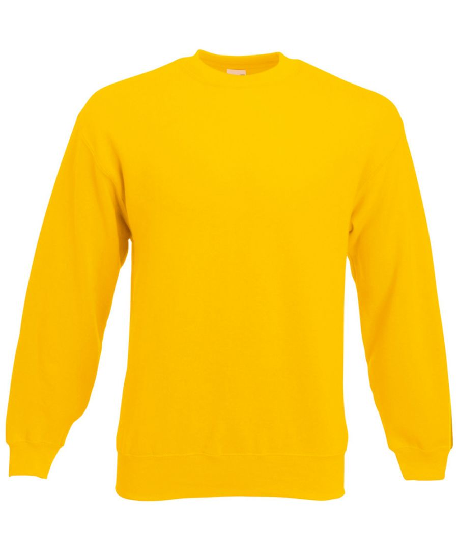 Image for Fruit Of The Loom Mens Set-In Belcoro® Yarn Sweatshirt